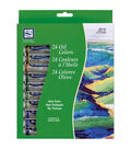 Loew-Cornell Oil Paint Set 12ml 24Pk