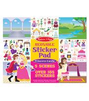 Princess C-reusable Sticker Pad, , hi-res