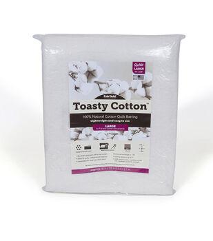 Fairfield Toasty Cotton Batting-Queen