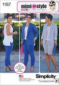Simplicity Pattern 1167U5 16-18-20-2-Sportswear