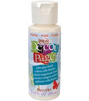 DecoArt Americana Decoupage Glue-2 Oz Matte, , hi-res