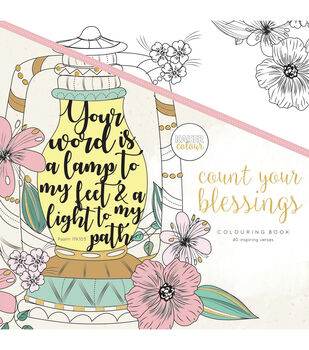 """KaiserColour Coloring Book 9.75""""X9.75""""-Count Your Blessings"""