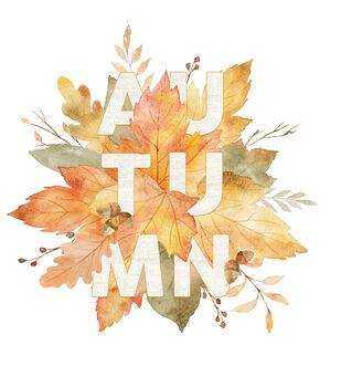 Simply Autumn Wall Decal-Autumn