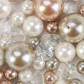 Panacea Gold Lace Diamond Pearl Mix 43pcs