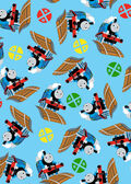 Thomas The Tank Engine Fleece Fabric 59\u0027\u0027-Thomas & Signs