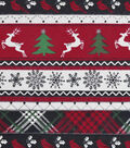 Snuggle Flannel Fabric -Holiday Stripe