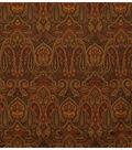 Home Decor 8\u0022x8\u0022 Fabric Swatch-Jaclyn Smith Bama-Coffee