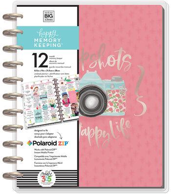 Happy Memory Keeping Undated 12-Month Big Planner-Painted Memories