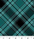 Snuggle Flannel Fabric 42\u0022-Annie Plaid Backyard