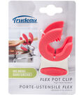Stainless Steel Flex Pot Clip-Red