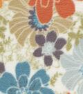 Anti-Pill Fleece Fabric -Rustic Flowers