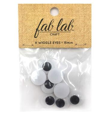 Easyglue Eyes 15mm 8pc