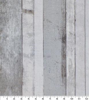 Keepsake Calico Cotton Fabric-Distressed Wood Gray