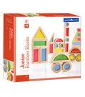 Guidecraft Jr. Rainbow Block, 40 Piece Set