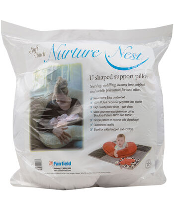 Nurture Nest Soft Touch U-Shaped Support Pillow