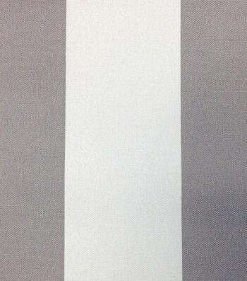 "Outdoor Fabric 54""-Baja Stripe Grey"