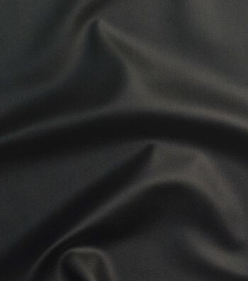 Yaya Han Cosplay Stretch Pleather Fabric 58''-Black
