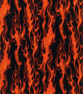 Novelty Cotton Fabric -Flame