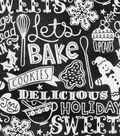 Christmas Cotton Fabric-Let\u0027s Bake Holiday