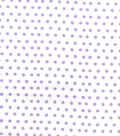 Snuggle Flannel Fabric 42\u0022-Smudged Dots Purple