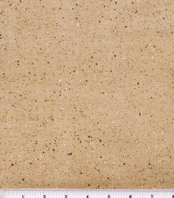"Keepsake Calico Cotton Fabric 44""-Gravel Tan"