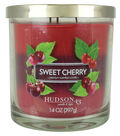 Hudson 43 Candle & Light 14 oz. Sweet Cherry Premium Scented Jar Candle