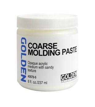 Golden Artist Colors 8 fl. oz. Coarse Molding Paste