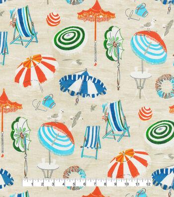 "P/K Lifestyles Outdoor Decor Fabric 54""-Beach Daze Sand"