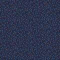 Patriotic Cotton Fabric-Blue Stars and Swirls