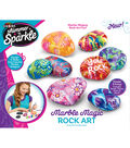 Cra-Z-Art Shimmer \u0027n Sparkle Marble Magic Rock Art Kit