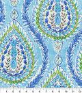 Dena Designs Upholstery Fabric 13x13\u0022 Swatch-Coconut Row Poolside