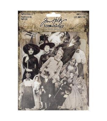 Tim Holtz Idea-ology Halloween-Paper Dolls Ancestors