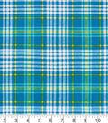 Snuggle Flannel Fabric -Sunny Plaid