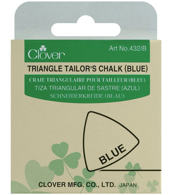 Clover Triangle Tailors Chalk