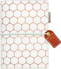 Webster\u0027s Pages Color Crush Pocket Traveler\u0027s Planner-Copper Hexagon