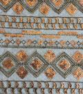 Sequin Mesh Fabric 49\u0022-Diamond & Linear