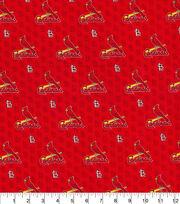 St. Louis Cardinals Cotton Fabric-Mini Print, , hi-res
