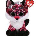 Ty Inc. Flippables Regular Sequin Jewel Fox