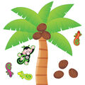 TREND enterprises, Inc. Palm Tree Bulletin Board Set, 2 Sets