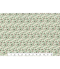 Christmas Cotton Fabric 43\u0022-Mini Holly Scrolls
