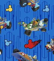Disney Cotton Fabric -Mickey & Friends High Speed Adventure, , hi-res