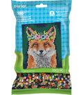 Perler Beads & Pattern Kit-Floral Fox