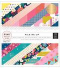Pink Paislee Pick-Me-Up 36 sheet 6\u0027\u0027x6\u0027\u0027 Single-Sided Paper Pad