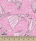 Disney Princess Flannel Fabric -Sketch