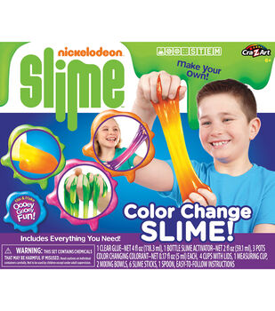 Cra-Z-Art Nickelodeon Color Change Slime