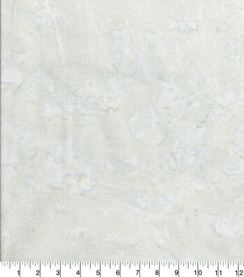 Cotton Fabric 44''-Light Gray Tonal Batik
