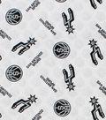San Antonio Spurs Cotton Fabric 44\u0022-Logo Toss