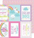 Fairy Tales Double-Sided Cardstock 12\u0022X12\u0022-Fairy Fetti