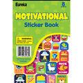 Eureka Sticker Books-Motivational