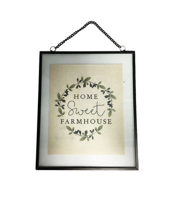 Simply Spring Wall Decor-Home Sweet Farmhouse